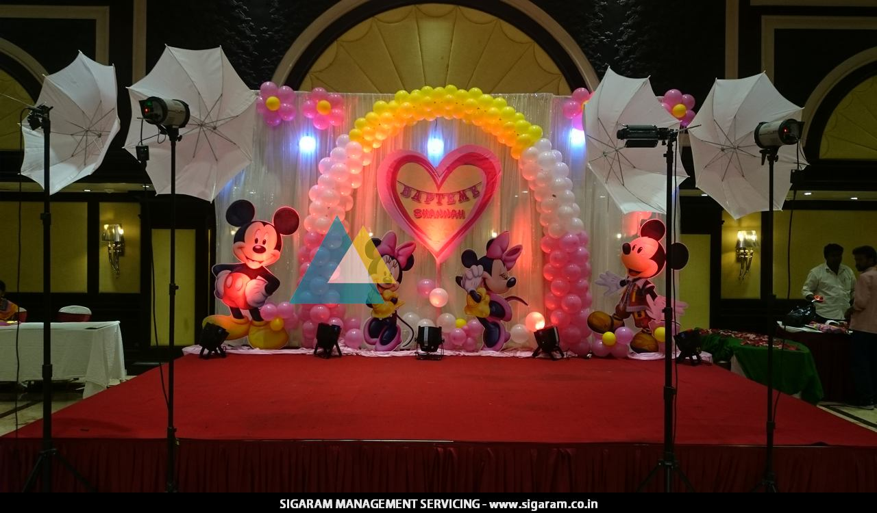 Birthday Party Balloon Decorations In Pondicherry