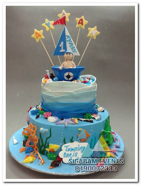 themed birthday cake and table decorations in pondicherry birthday decorators in pondicherry