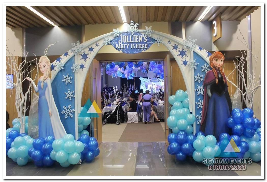 Balloon Decorations For Birthday Kids