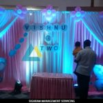 Elephant theme Birthday Party decoration at Pondicherry