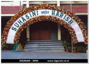 Wedding Entrance Arch Decoration - 0056