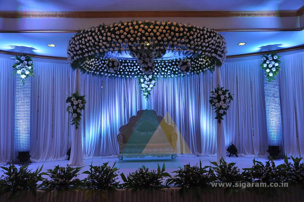 Sakthi Suriya Wedding Event Decoration Le Royal Park Hotel