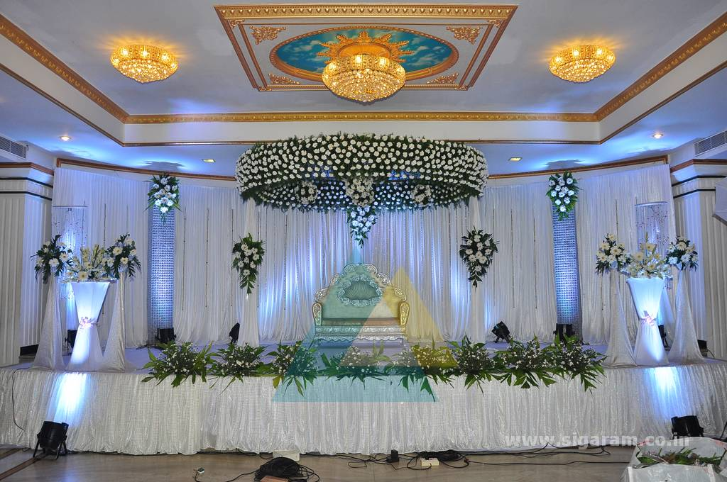 Reception decoration le royal park sigaram wedding decorators reception decoration le royal park junglespirit Choice Image