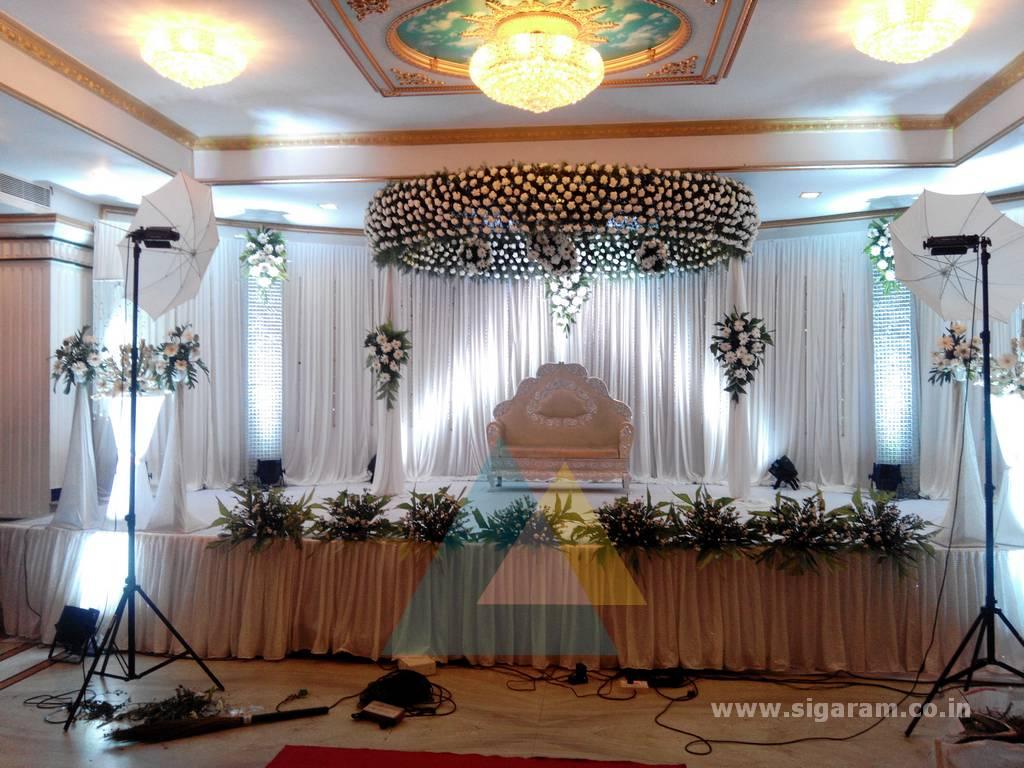 Sakthi Suriya Wedding Event Decoration Le Royal Park Hotel Pondicherry Wedding Decorators