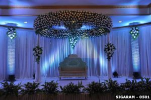 Wedding Decorations done at Pondicherry Le royal Park