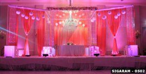 SIGARAM - 0502 - Grand reception decoration