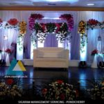 Partiban – Anitha Wedding Reception Decoration at JVS Mandapam, Tindivanam