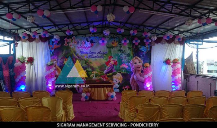 Birthday Decoration @ Ponnusamy Hotel