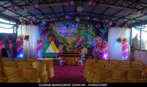 Birthday Decoration @ Ponnusamy Hotel