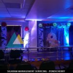 Engagement Stage Decoration done @ Neyveli, Tamilnadu