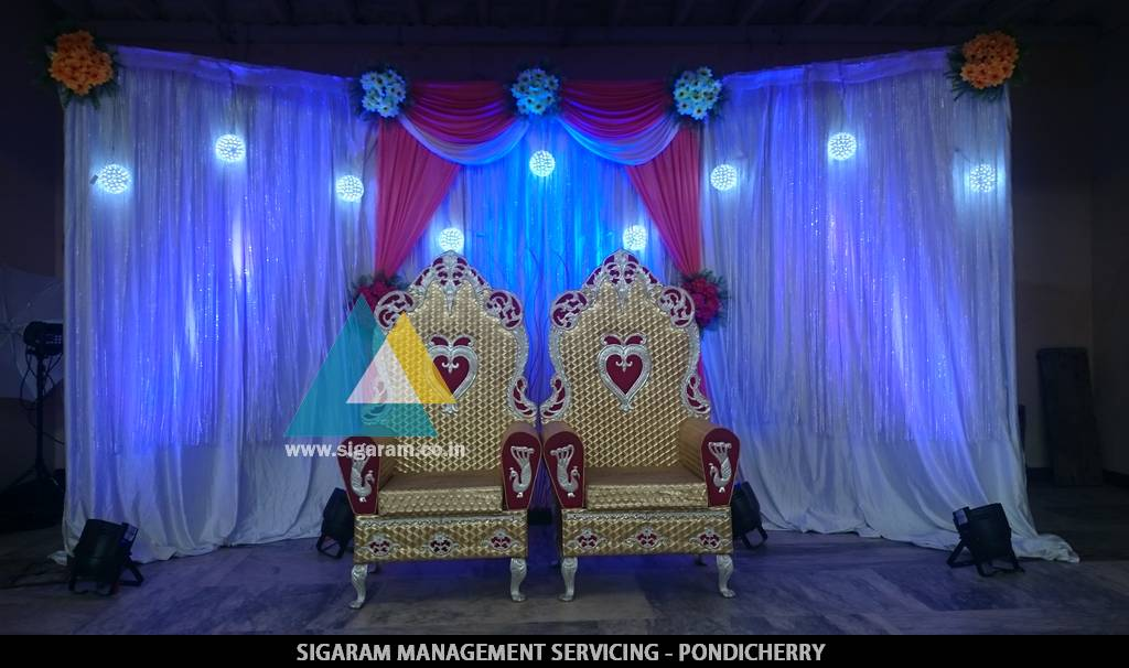 Engagement Decoration at Kotakkuppam
