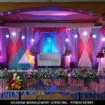 Reception Decoration at JVS Mandapam, Tindivanam – 8th May, 15