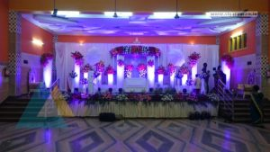 Reception Decoration @ Rajesh Mandapam, Pondicherry 4