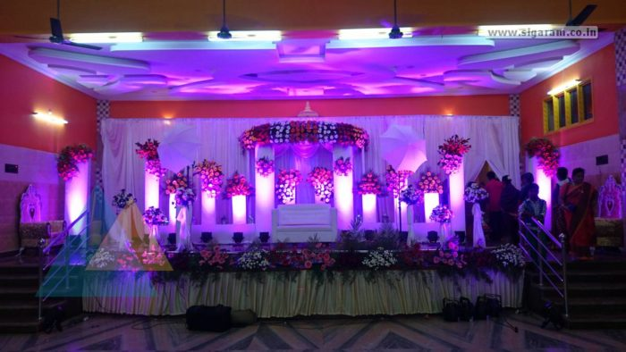 Reception Decoration @ Rajesh Mandapam, Pondicherry 6