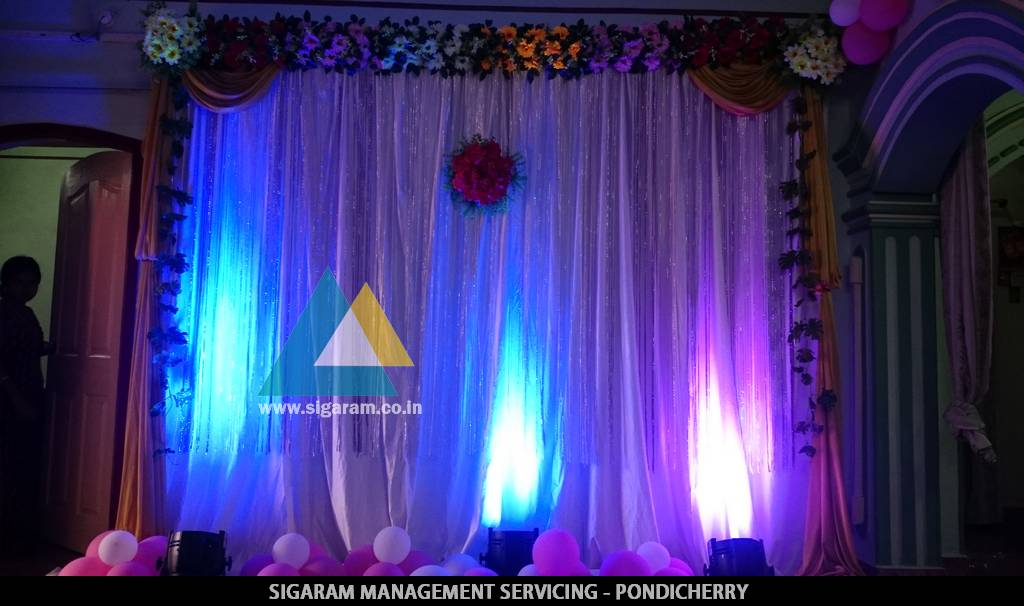 Kathani Vizha Function Decoration