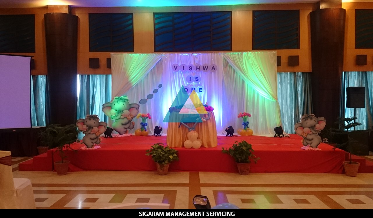 Themed Birthday Party Decoration At Sunway Manor Pondicherry Sigaram Wedding Decorators