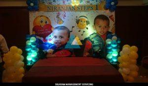 Birthday Party Balloon Decoration at Annamalai Hotel (1)