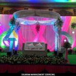 Reception Decoration done at AVN Mahal, Chengalpet, Tamilnadu