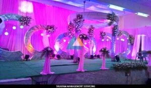 Reception decoration at Tittagudi, Tamilnadu