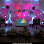 Wedding Reception Decoration at VV Arumuga Mandapam, Villupuram