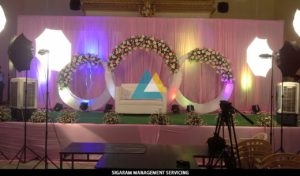 Wedding Decoration at Raja rajeshwari Mandapam, Pondicherry