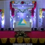 Wedding Decoratin at Sai Baba Tirumana Mandapam, Pondicherry