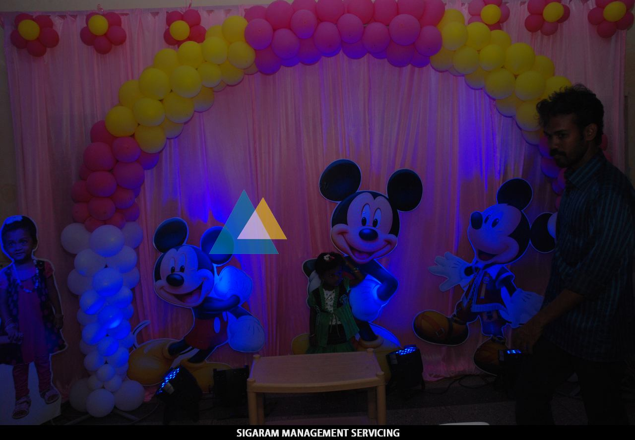 Birthday Party Decoration At Home Themed Birthday Parties In Pondicherry Sigaram Wedding