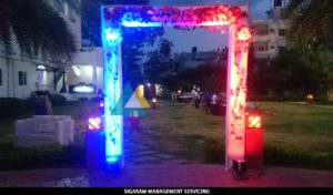 Entrance decoration Wedding Party Decoration at Bon Sejour (9)