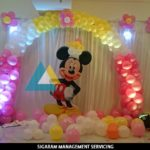 Mickey Mouse Themed Birthday Decoration @ Le Royal Park Hotel, Pondicherry