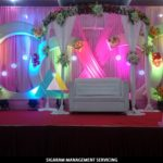 Wedding Decoration at Parvathi Thirumana Nilaiyam, Pondicherry