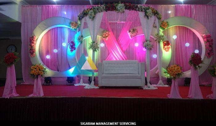 Wedding Decorations at Parvathi Thirumana Nilaiyam Pondicherry (2)