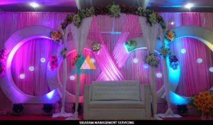 Wedding Decorations at Parvathi Thirumana Nilaiyam Pondicherry