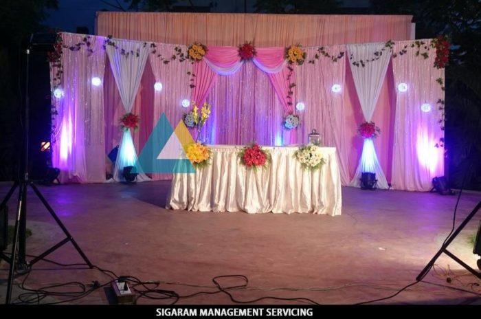 Wedding Party Decoration at Bon Sejour (1)