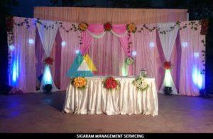 Wedding Party Decoration at Bon Sejour (4)