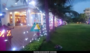 Lightings at the Wedding Party Decoration at Bon Sejour (7)