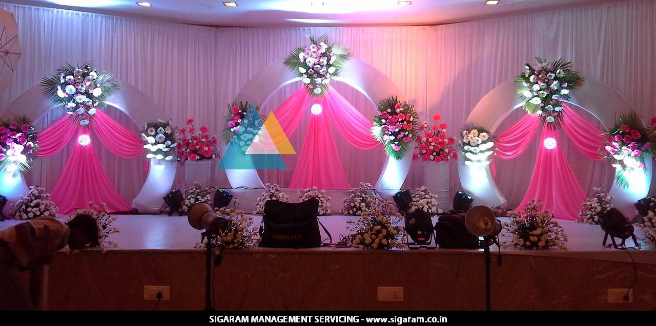 Puberty manjal neerattu vizha function decoration le for Decoration decoration