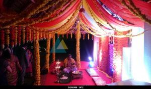 Engagement Decoration at Prince Park Resort - 1412