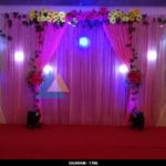 Engagement Decoration done at Hotel Bon Sejour, Pondicherry
