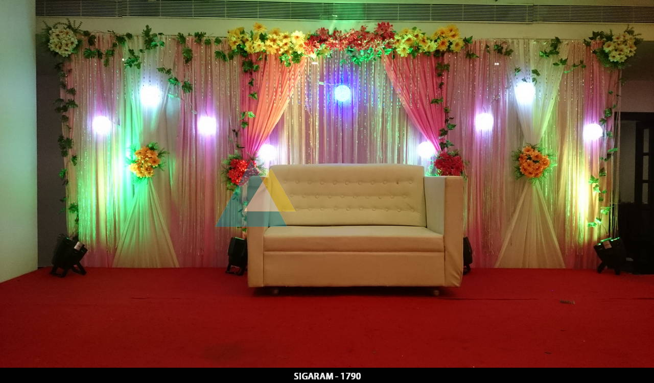 Engagement decoration done at hotel bon sejour for Decoration ideas