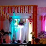 Wedding & Reception decoration at NT Mahal, Pondicherry