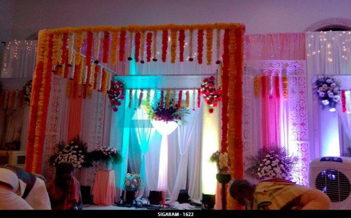 Wedding Decoration at NT Mahal Pondicherry