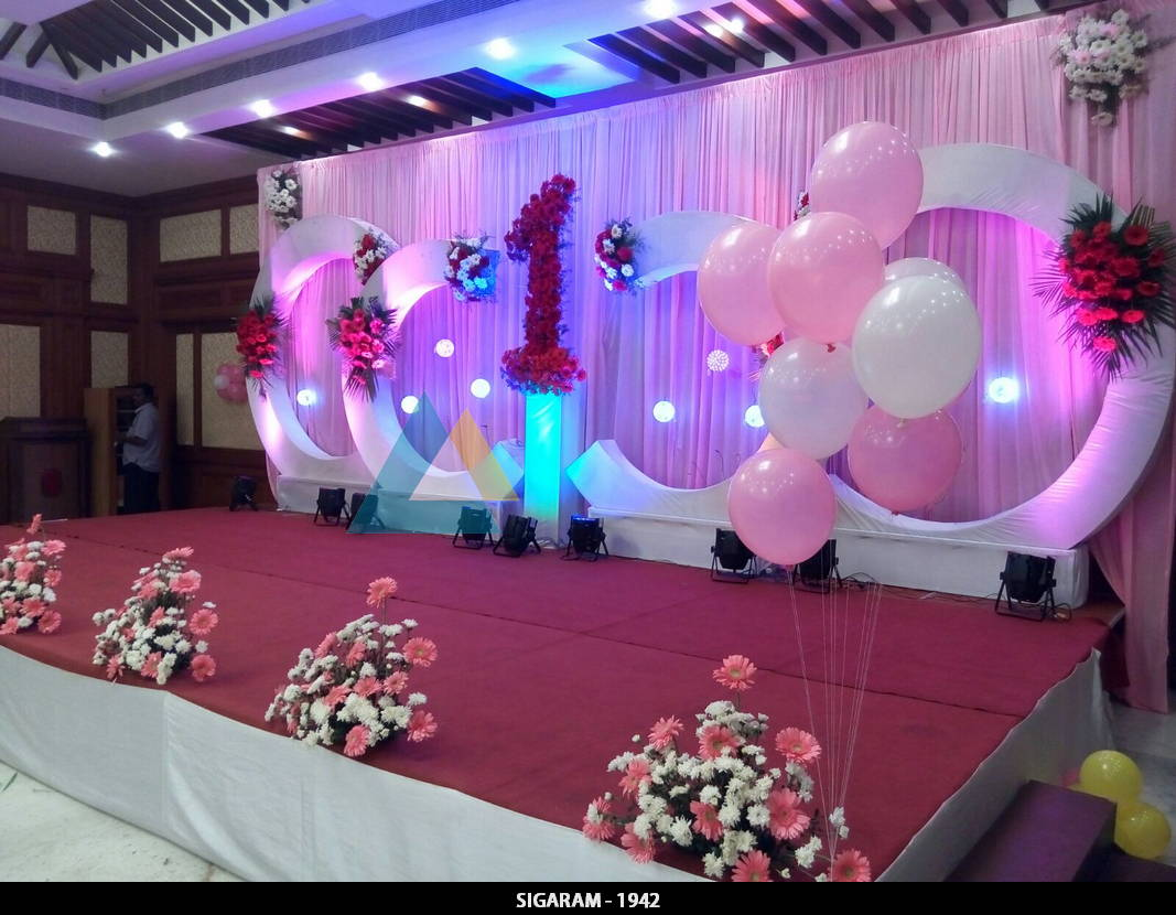 Birthday Party Decoration at Shenbaga Hotel and Convention Centre
