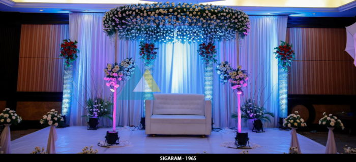 Reception Decoration at The Residency Hotel, Coimbatore