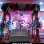 Wedding Reception decoration at Subalakshmi Thirumana Mahal, Cuddalore