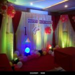 Birthday Party Decoration done at Junior Kuppanna Hotel, Pondicherry