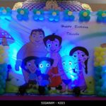 Chota Bheem themed Birthday Decoration (4)