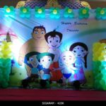 Chota Bheem themed Birthday Decoration (7)