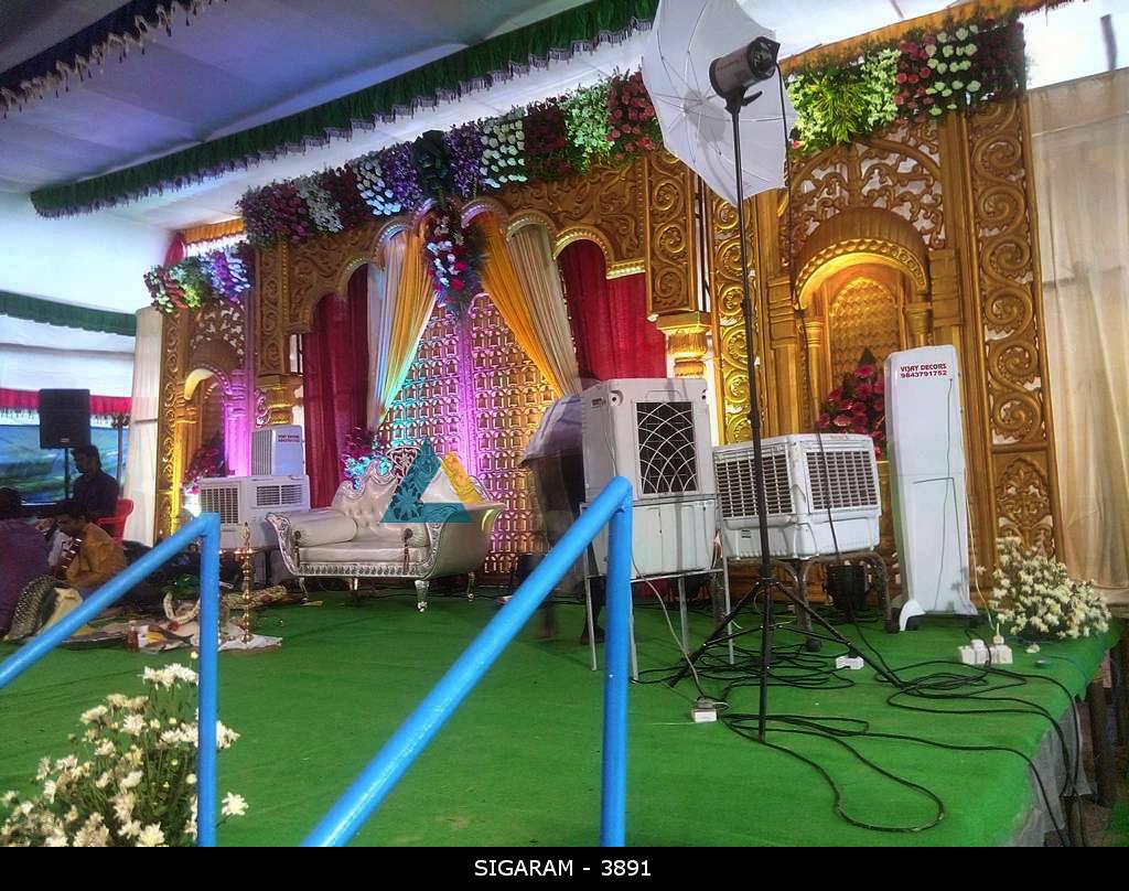 Engagement Decoration at Vedharanyam (1)