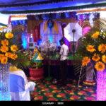 Engagement Pathway Decoration at Vedharanyam (1)