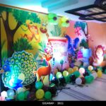 Forest Themed Birthday Decoration at Jayaram Hotel Pondicherry (7)